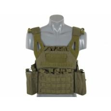 Lightweight Jump Plate Carrier with Pouch Set -OLIVE